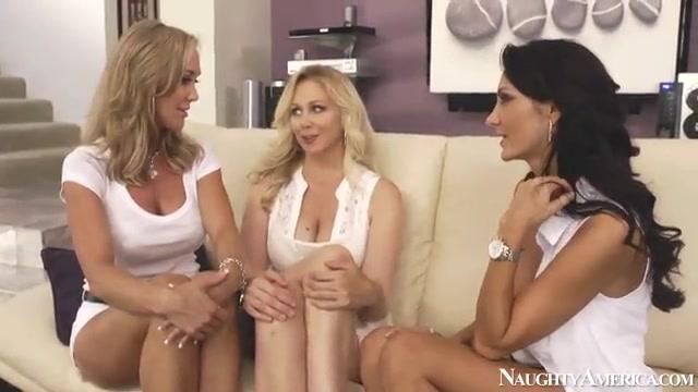 Три девочки на один член